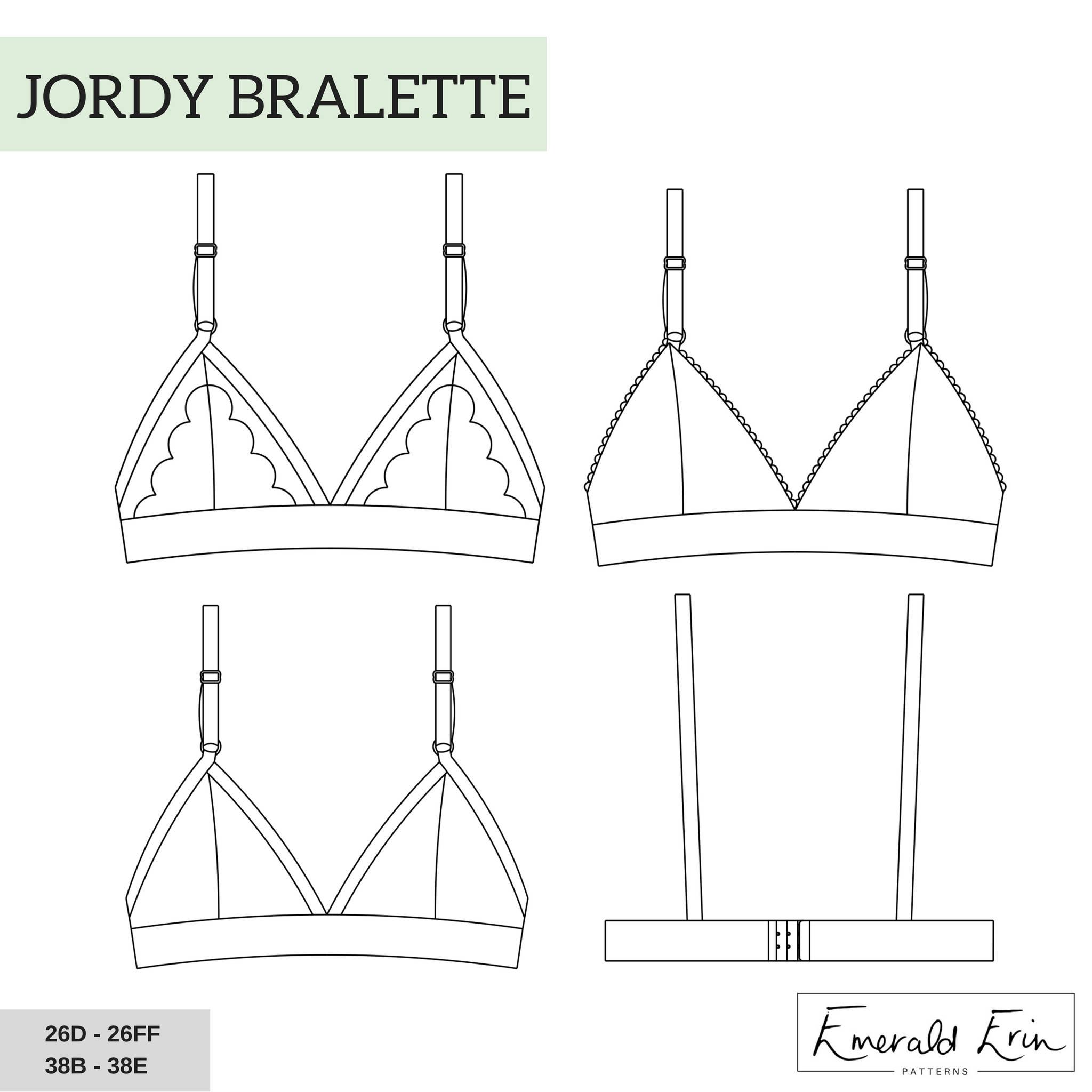Jordy Bralette by Emerald Erin