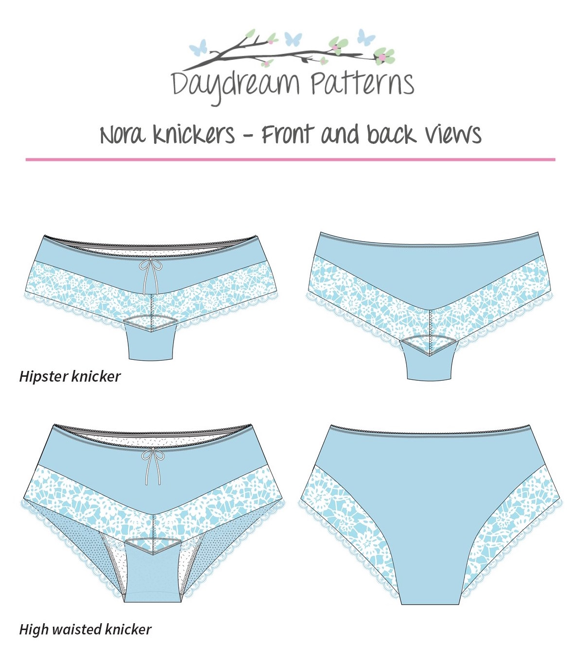 Nora Knickers by Day Dream Patterns