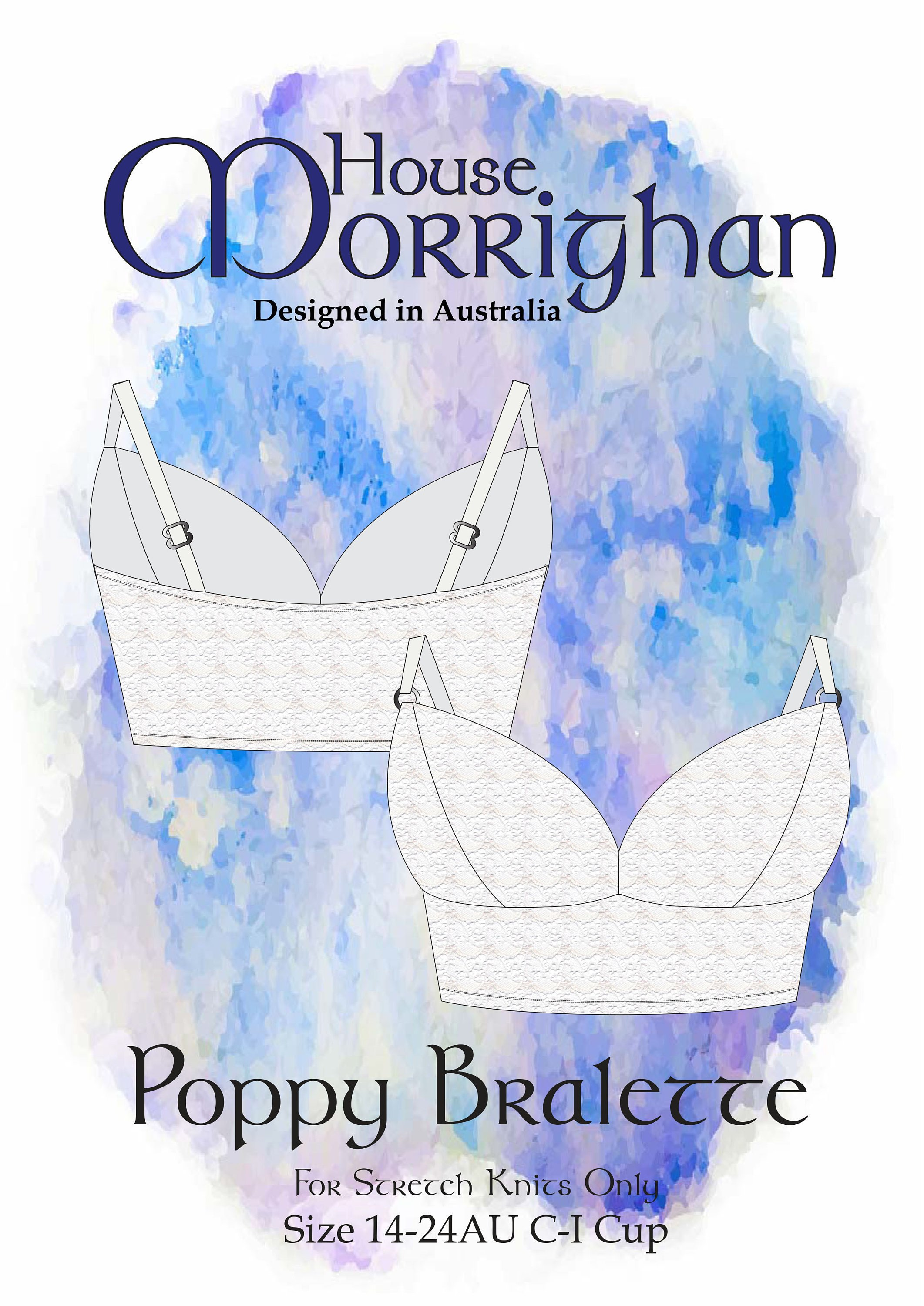 Poppy Bralette by House Morrighan