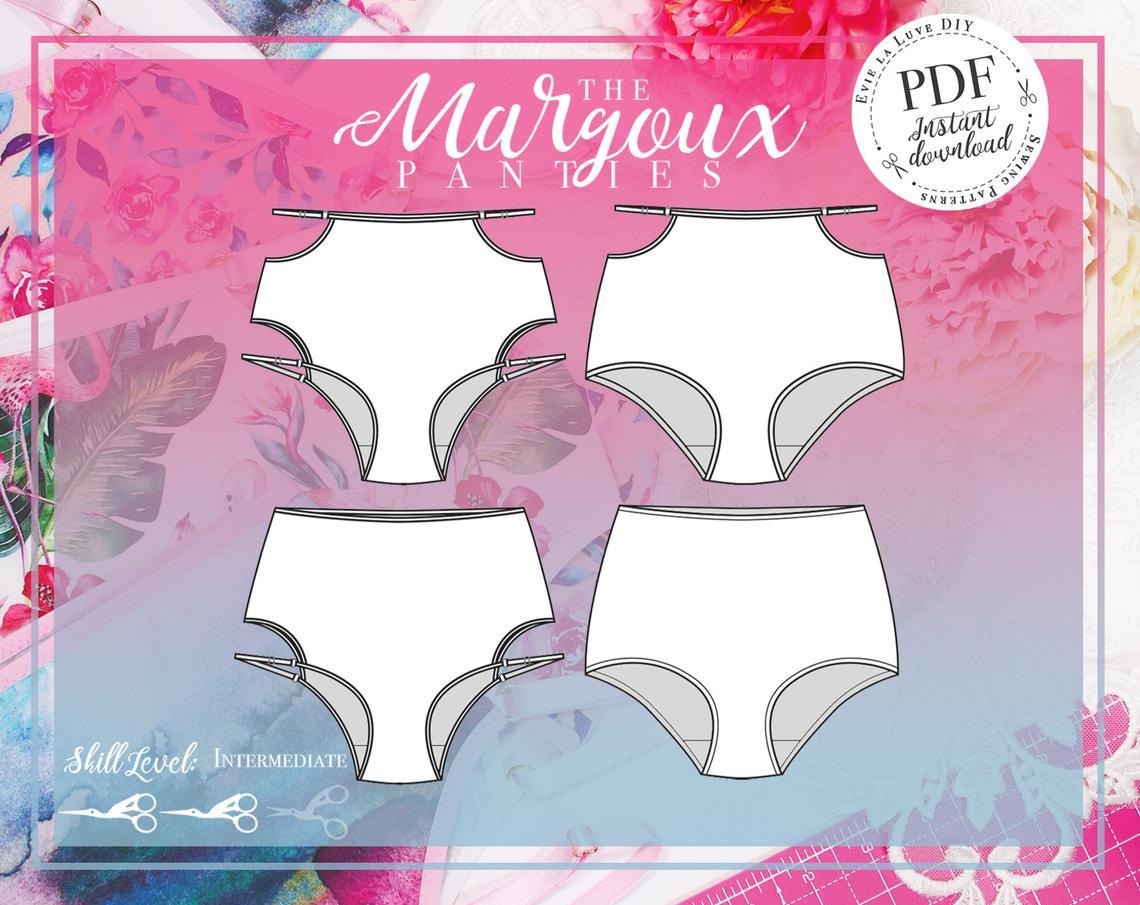 Evie la Luve Margoux Panties